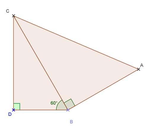 Exercices Corriges De Maths Geometrie Figures Planes Trigonometrie